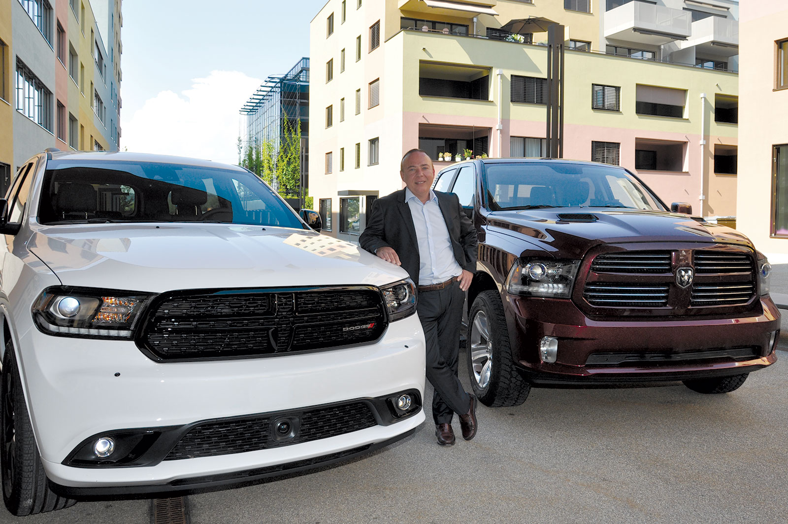 AGT Europe CEO with Dodge and RAM